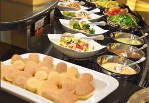 ディズニーアンバサダーホテル 2〜朝食・レストラン・プール